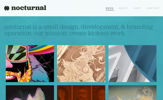 Nocturnal Interactive Design and Branding