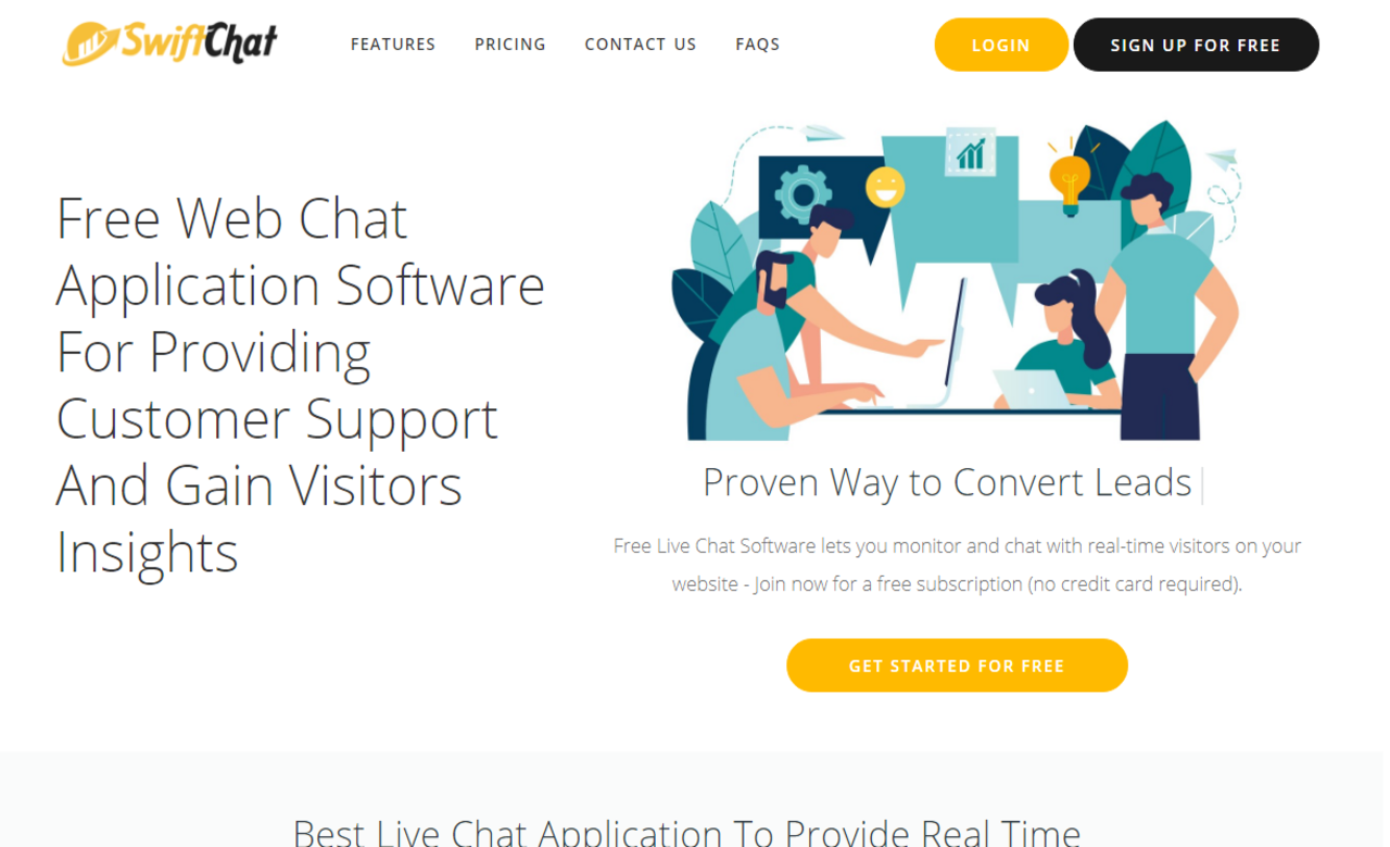 SwiftChat Free Live Chat App