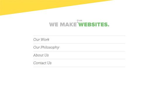 We Make Killer Websites