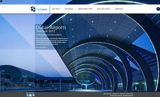Dubai Airports Yearbook 2012