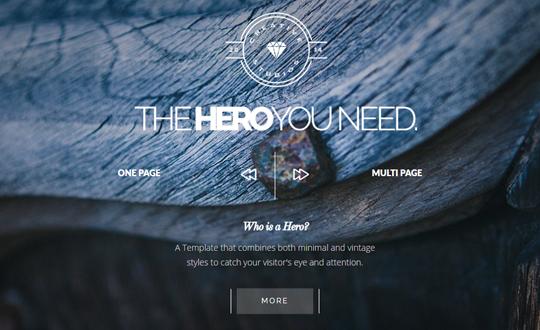 Hero Bold Multipurpose WordPress Theme