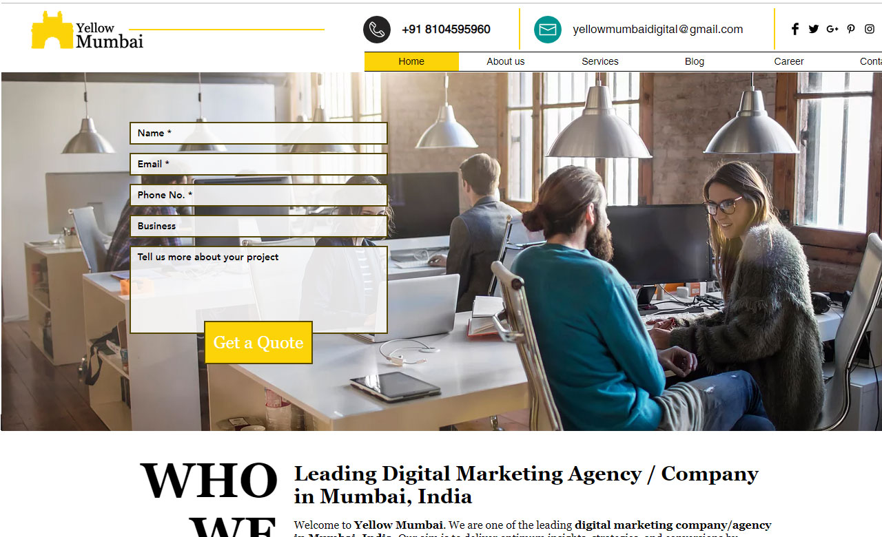 Yellow Mumbai Digital Marketing Agency