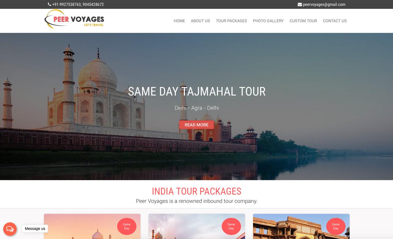 Peer Voyages india